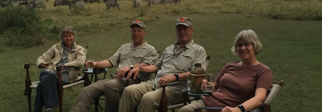 Dispatch from Africa – Masaai Mara, Giraffes and Selous